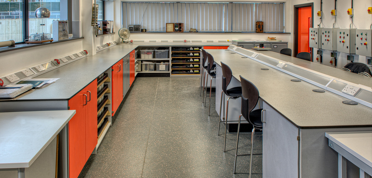 College of West Anglia Science Lab