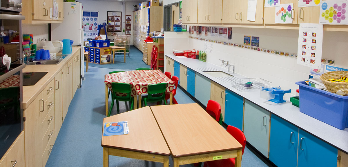 kitchenette the downs primary school