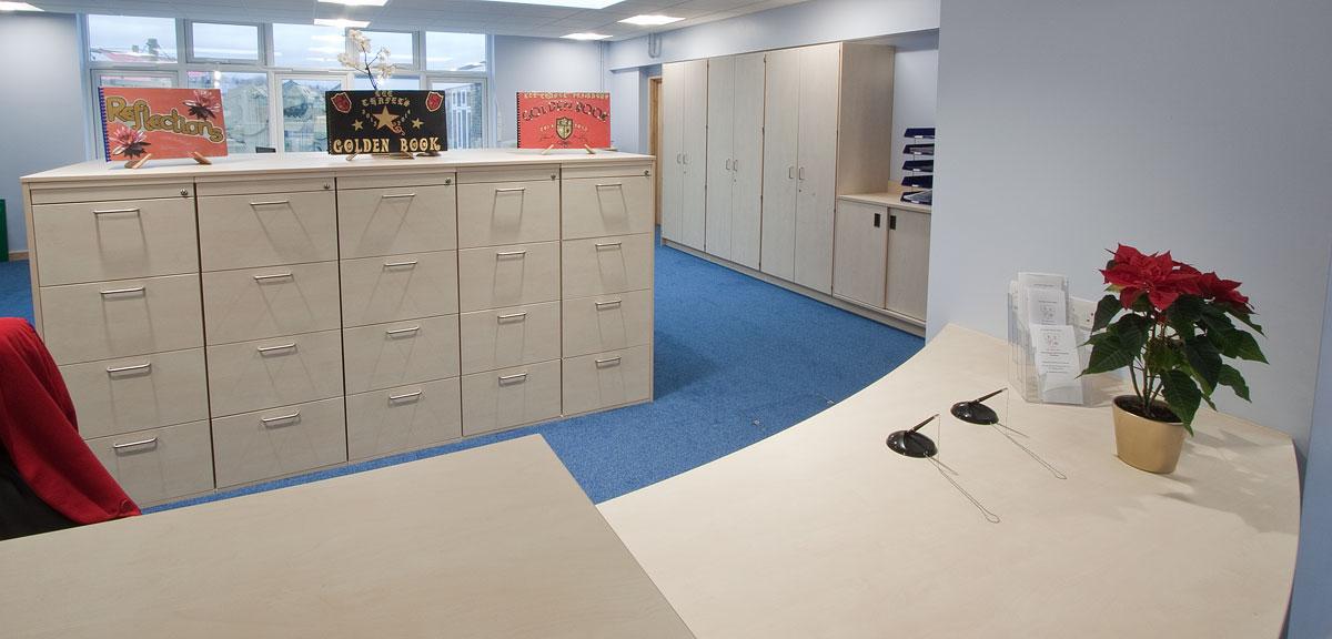 reception storage