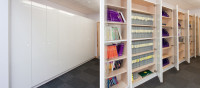 Storage Wall for Books