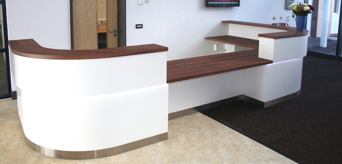 reception worktop