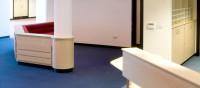 reception office area