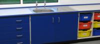 school sink area