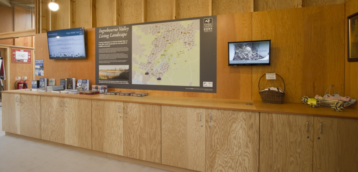 Ingrebourne Valley Visitor Centre storage solution