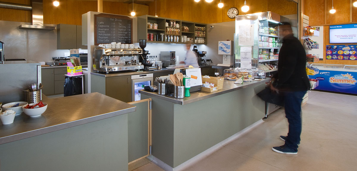 Tea and Coffee Point at Ingrebourne Valley Visitor Centre