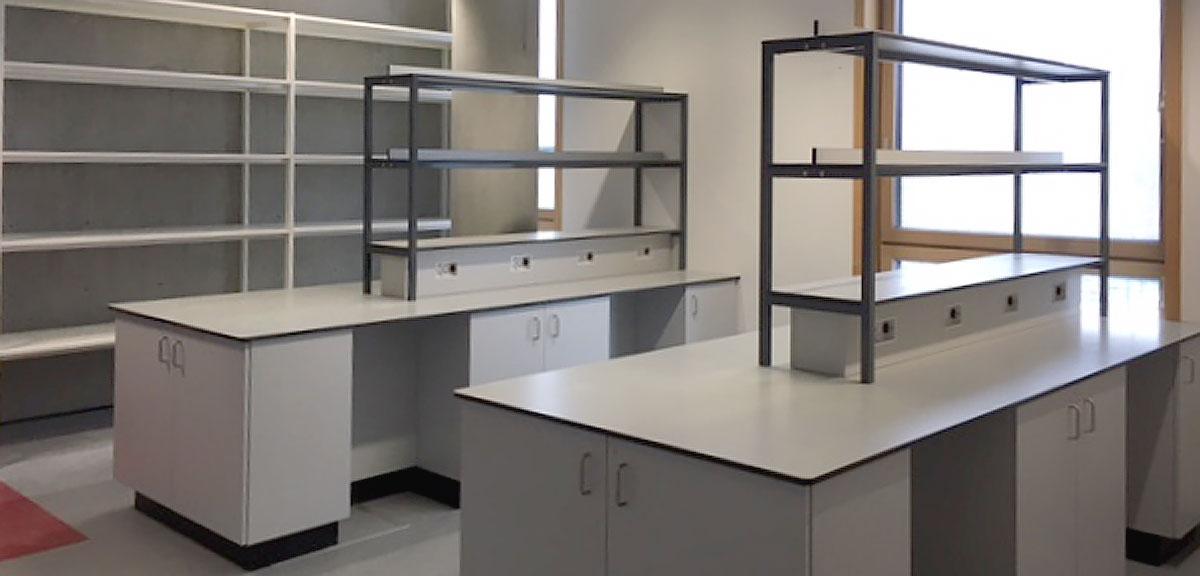 Science Lab at School