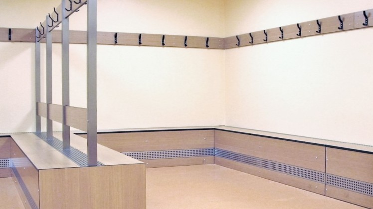 cloak furniture for changing rooms