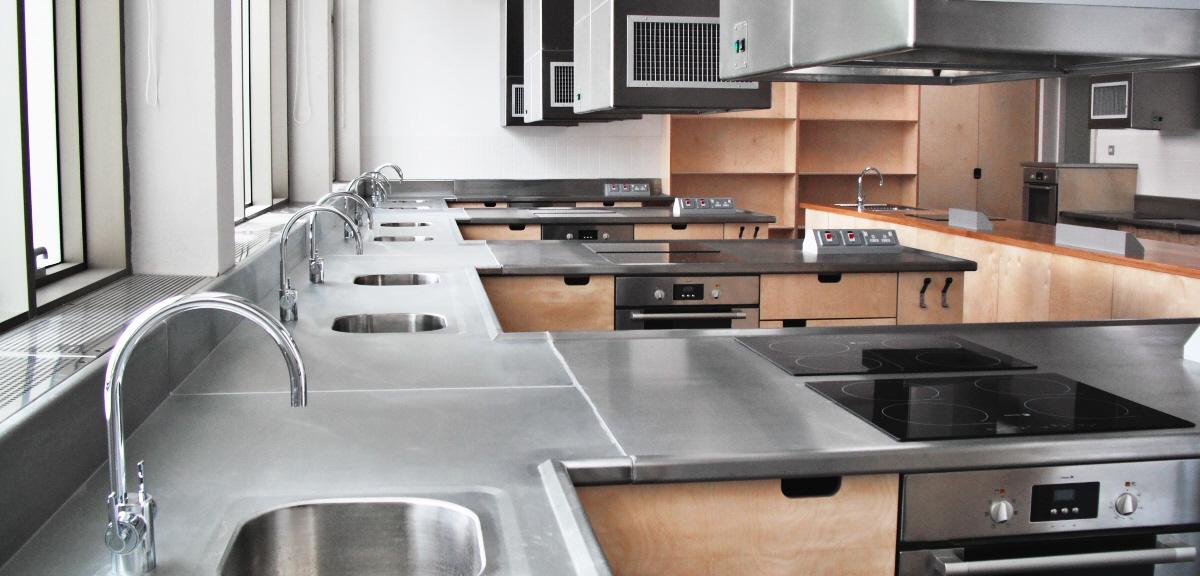 Food Technology Classroom Sink Area