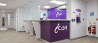 Reception Area icaSH Clinic