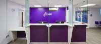 icaSH Clinic Reception Area