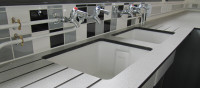 Science Lab Sink Area