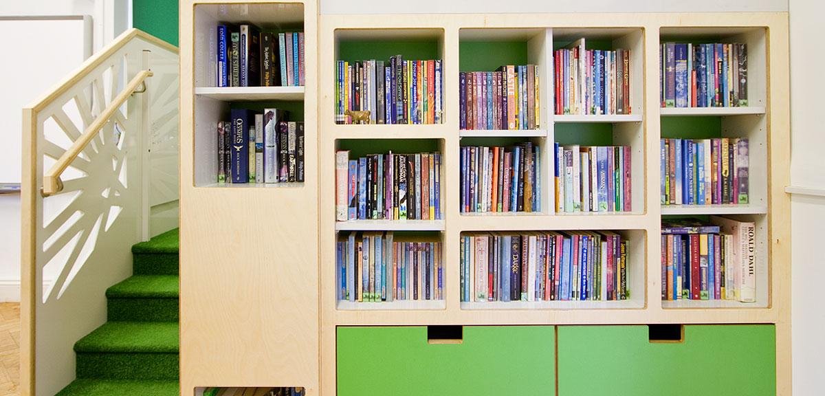 bespoke school library furniture