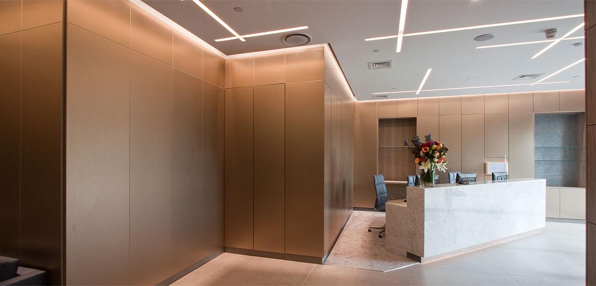 medical reception furniture