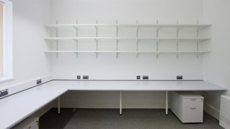 Storage solution for laboratory