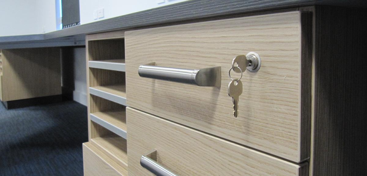 Office Furniture Lockable Desk