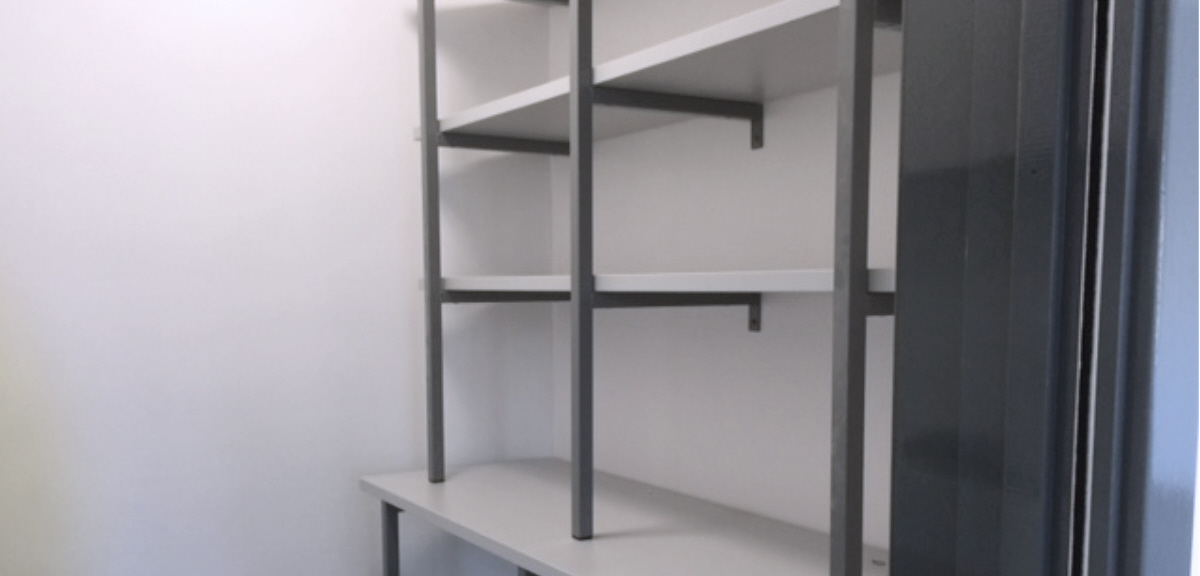 Adjustable Glass Shelving Systems