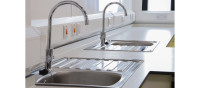 Sink area for Heathland Primary School