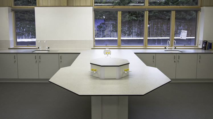 School science furniture provided by Benchmark Products