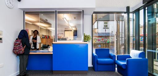 reception furniture, help desk