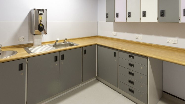 Healthcare fitted furniture