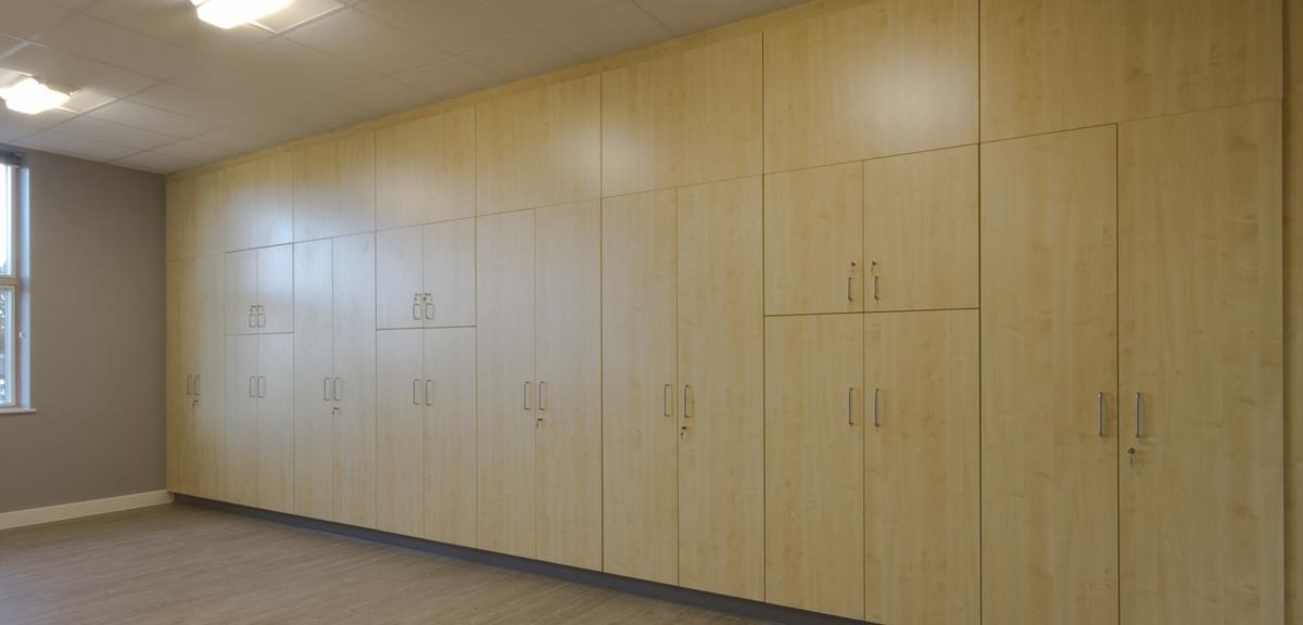 Hounslow Heath Junior School Cupboards
