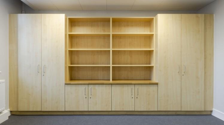 Former Minchenden School Shelves