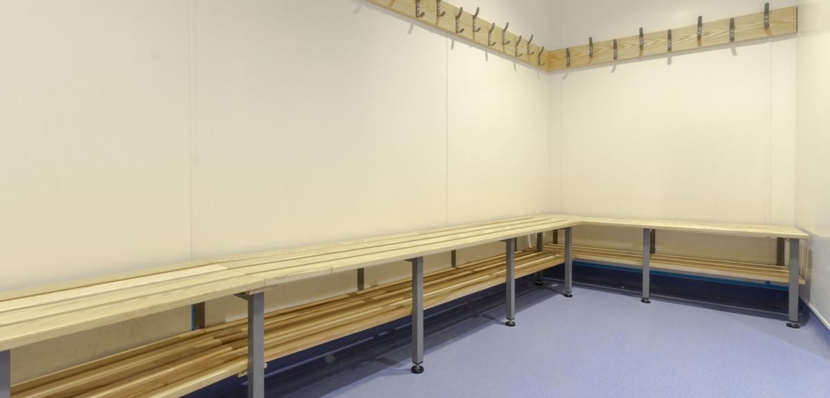 Former Minchenden School Cloakroom