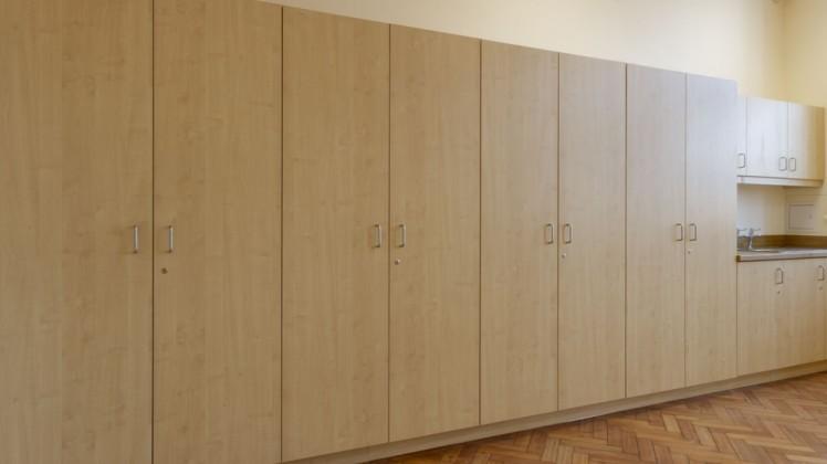 Former Minchenden School Cupboards