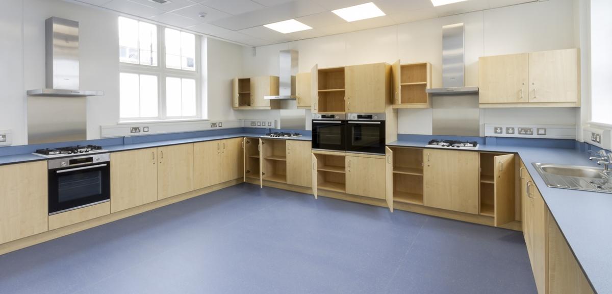 Former Minchenden School DT Food Classroom