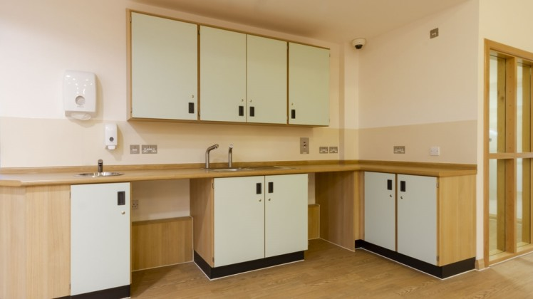 cupboards for medical clinic