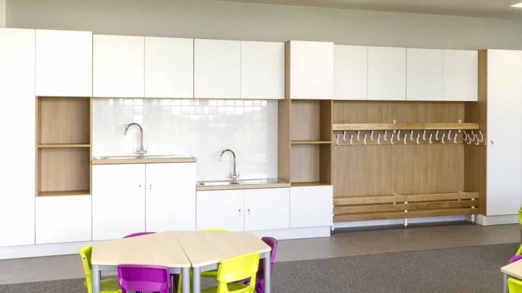 cloak furniture for primary schools
