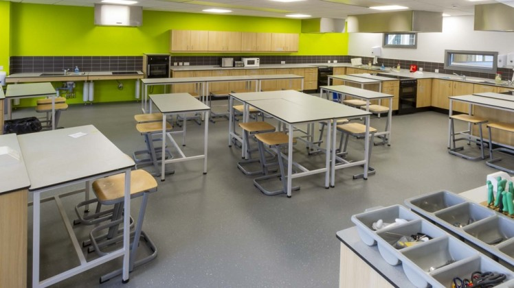 school food class furniture