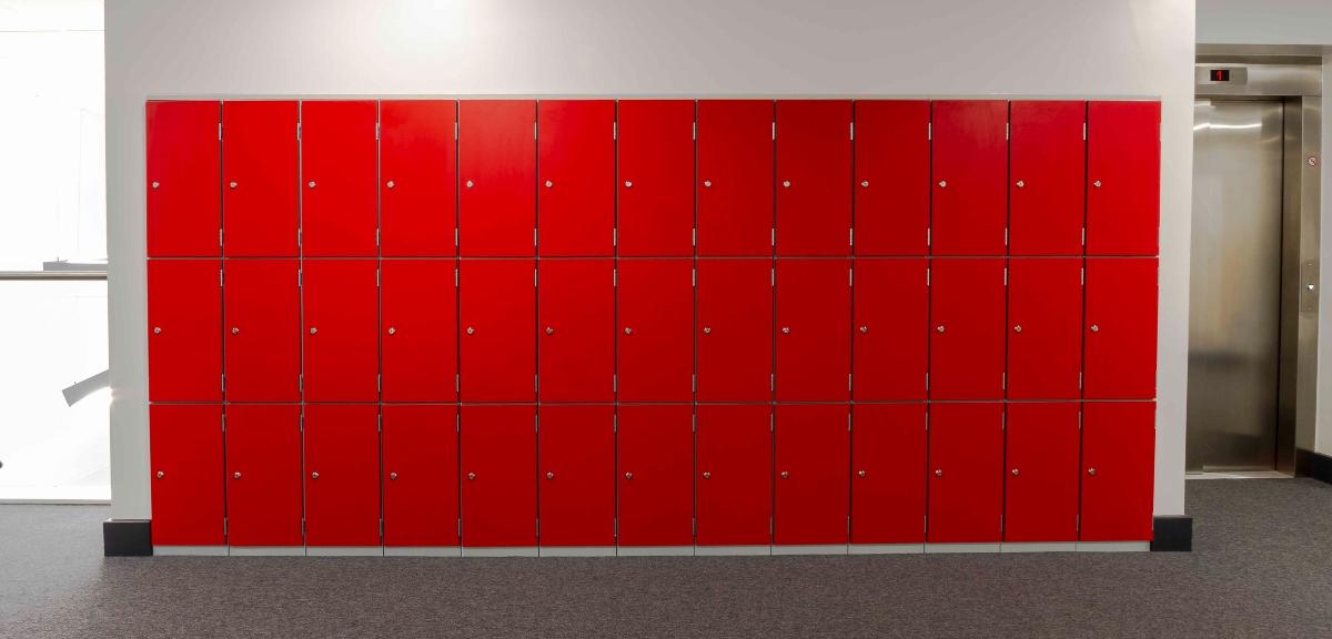 Hethersett red lockers