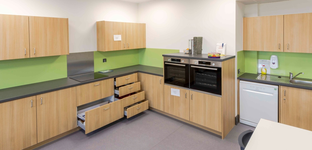 bespoke fitted furniture for schools