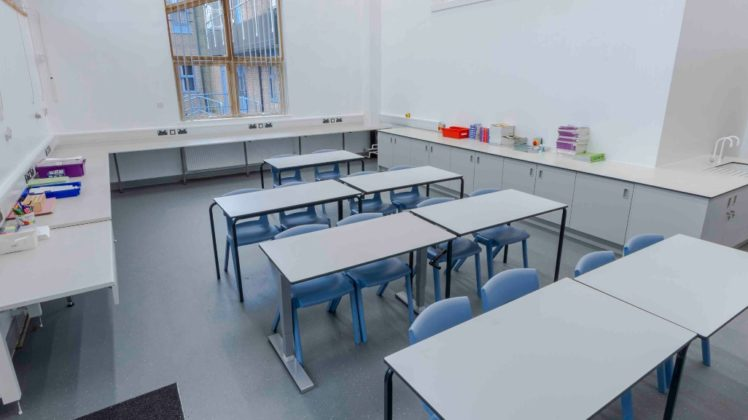 fitted furniture for classrooms