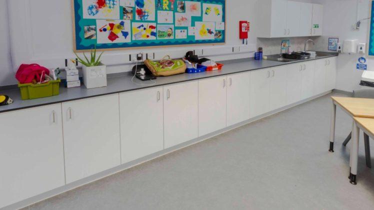 primary school kitchenette